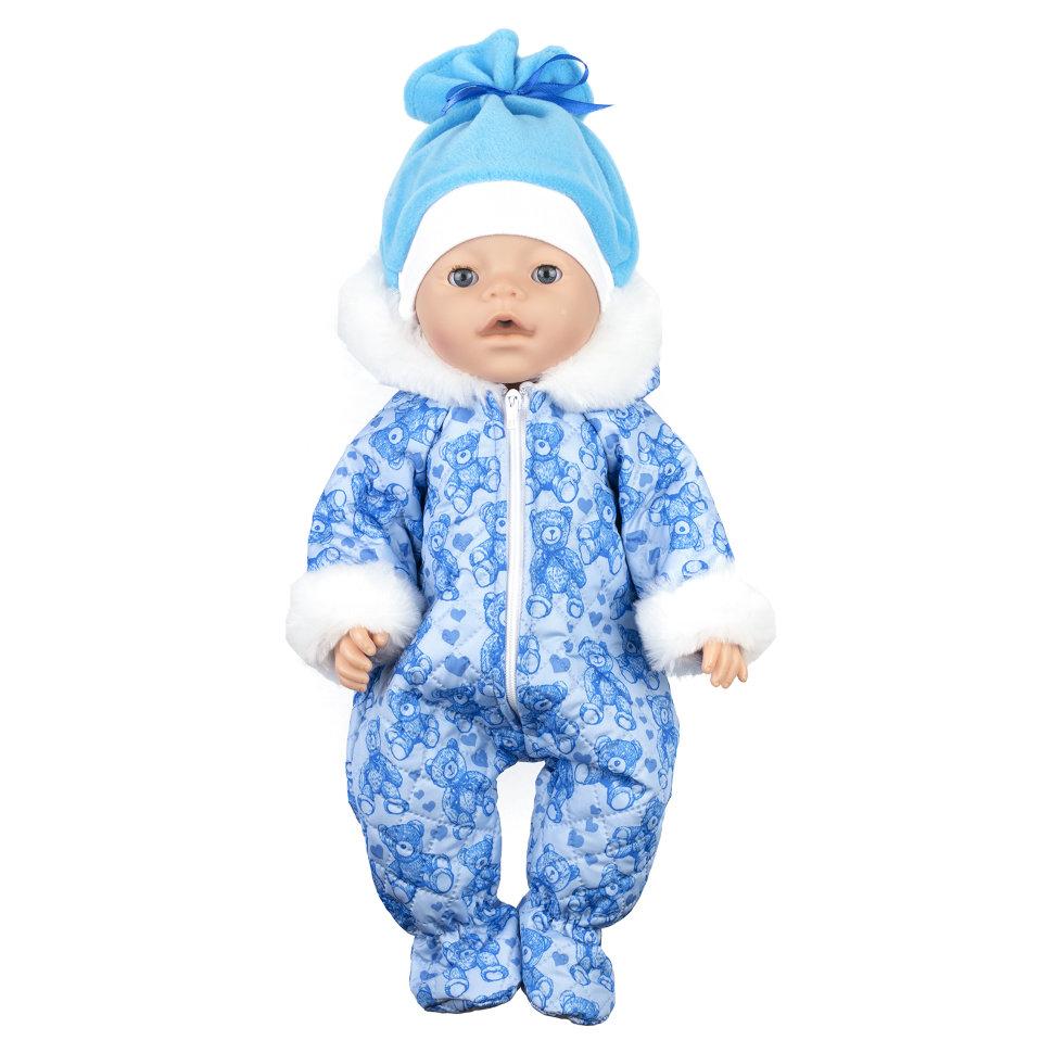 Сшить зимний комбинезон для беби